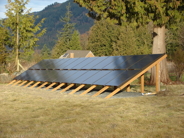 Silicon Energy Ground Mounted Solar Panels Fire Mountain